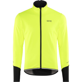 GORE WEAR C5 Windstopper Jakke Herrer, neon yellow/black